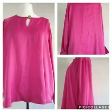 Marks and Spencer Per Una Pink Blouse Size 22 BNWT (K1)