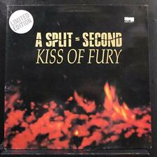 A Split - Second - Kiss Of Fury LP VG+ AS 5014 Belgium 1990 Vinyl Record