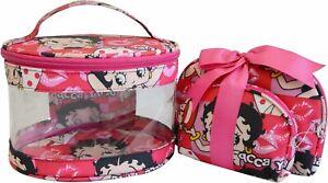Betty Boop Makeup Bag 3 Pieces Set