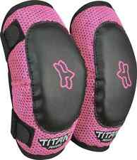 08039-285 Fox Youth Pee Wee Titan Elbow Guard M/L Pink MX Atv Moto