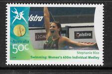 AUSTRALIA 2006 COMMONWEALTH GAMES SWIMMING Stephanie Rice 400m Medley 1v MNH