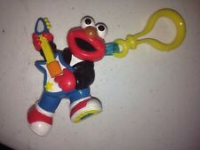 SESAME STREET ELMO CLIP KEY RING HENSON VHTF 3 INCH KEY RING