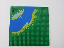Pattern Lego Baseplate #2359px3 From Sets 6278 , 6292 Green River