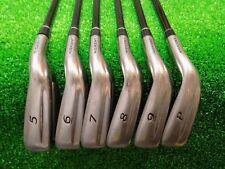 Mens RH Nickent Genex 3DX Oversize Iron Set 5-PW Graphite Regular Golf Clubs