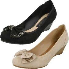 Anne Michelle Wedge Slip On Heels for Women