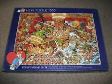 HEYES JIGSAW - EDDIES BLIND DATE - 1000 PIECE - EXCELLENT COND. BUT 1 MISSING