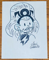 STORM BLACK AND WHITE SKETCH by CHRIS GIARRUSSO Marvel Comics X-MEN Ororo Munroe
