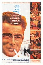 THE JAMES DEAN STORY Movie POSTER 27x40 Martin Gabel Lew Bracker Marvin Carter