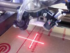 40W CO2 Laser 3D printed Air assist and Laser Cross hair Holder 10-12mm OD