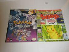 POKEMON Snap, Diamond/Pearl Version Game Guides Lot of 2