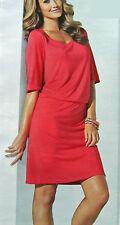 Halbarm Kleid Shirt-Kleid Gr. 48/50 hummer Long Tunika 968929 Neue Damenmode