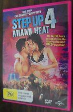 Step Up 4 Miami Heat ex-rental region 4 DVD (2012 dance drama movie)