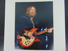 """""""Traveling Wilburys"""" Tom Petty Hand Signed Color 8X10 Photo Todd Mueller COA"""