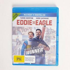 Eddie the Eagle Bluray Movie Blu-ray Free Postage - Sports Comedy Hugh Jackman