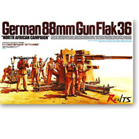 "Tamiya 35283 German 88mm Gun Flak 36 ""North African Campaign"" 1/35"