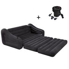 Sofa divano gonfiabile Intex 68566 bed letto poltrona materasso con pompa Rotex