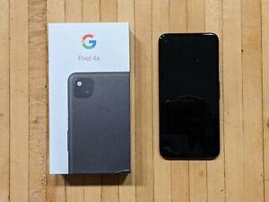 Google Pixel 4a G025J - 128GB - Unlocked - Just Black