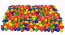 Pit Balls 6 Bright Colors Crush Proof Plastic Ball Pack of 200 Phthalate