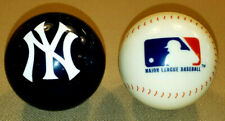 NEW YORK YANKEES & MLB POOL BALL SET - BRUNSWICK BILLIARDS CHALK FREE