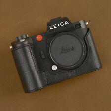 Handmade Genuine Leather Half Camera Case Cover for Leica SL2 Camera Protector