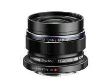 Olympus M.zuiko Digital Ed 12mm F/2.0 Lens Black XK