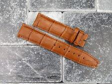 22mm Leather Strap Band Portuguese X Large IWC Big Pilot Honey Brown XL