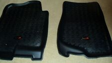Rugged Ridge Front Floor Mats CHEVY GMC 2500HD 3500HD 2007 - 2014 Crew Cab Blk