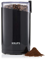 Krups Electric Spice Coffee Grinder Stainless Steel Blades Black