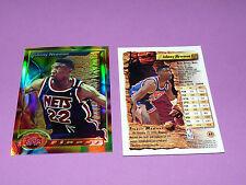 JOHNNY NEWMAN NEW JERSEY NETS FINEST TOPPS 1994 NBA BASKETBALL CARD