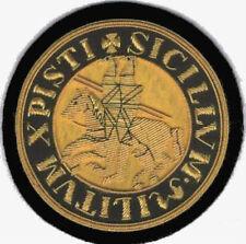 Masonic Freemasonry Lodge English Medieval Templar Crusade Templar Knight Patch