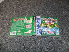 REPLACEMENT NINTENDO GAMEBOY GAME DS CASE BOX - POKEMON GREEN
