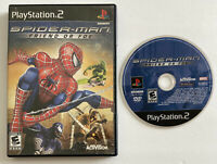 Spider-Man: Friend or Foe -TESTED WORKS (PS3, Sony PlayStation 2, 2007) MARVEL!!