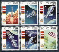 USAstamps Unused VF USCuba Beautiful Space Complete Set Scott 2244-2249 OG MNH