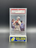 🔥1998 PEYTON MANNING PLAYOFF PRESTIGE RETAIL RC PSA 10 GEM MINT HOF POP 17🔥
