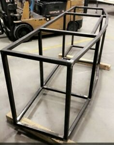 250Gallon Bow front Steel Aquarium Stand Heavy Duty 11G Thickness