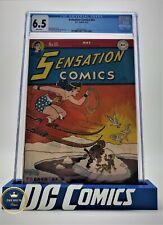 Sensation Comics #65, CGC 6.5 1947 Arctic starring Wonder Woman! Harry G. Peter