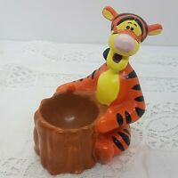 DISNEY Tigger Ceramic Egg Cup 11cm Tall Novelty Breakfast Collectable Pooh