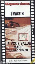 Je vous salue Marie - Il libro di Maria - VHS EDITORIALE L'ESPRESSO SIGILLATA