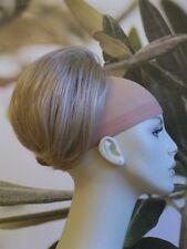 "HONEY BLONDE "" BEEHIVE "" BUN HAIR PIECE UPDO EXTENSION #24H UK SELLER"