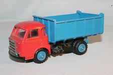 1960's CIJ Saviem Dump Truck, Blue Hubs, Nice Original
