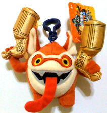 "NEW! Skylanders Giants! Trigger Happy! 5"" Plush Clip On Key Chain! RARE!"