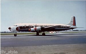 Eastern Airlines DC-7B jet airplane postcard