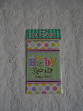 BABY SHOWER GAMES BOOK -  games for  baby shower party - maternity - amscan