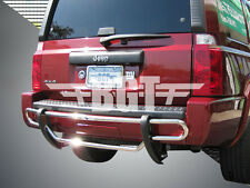 BGT 2006-2010 JEEP COMMANDER REAR DOUBLE TUBE UNDER DESIGN BUMPER PROTECTOR S/S