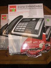 RCA 25260 2 Line Corded Expandable Full Duplex Office Speakerphone