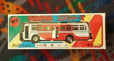 More details for diecast 1:100 scale model ~ nsk japan - 105: hino re120 bus: red & white - 2010