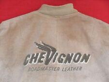 CHARLES CHEVIGNON Wild Leather Jacket Roadmaster Motorcycle MC Retro Size: XL
