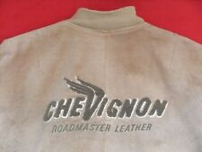 Charles CHEVIGNON SALVAJE Chaqueta de cuero Roadmaster Motocicleta MC