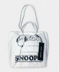 NEW MARC JACOBS X PEANUTS  THE TOTE BAG Snoopy  ** SALE **