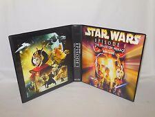 Custom Made Star Wars The Phantom Menace Widevision Trading Card Album Binder